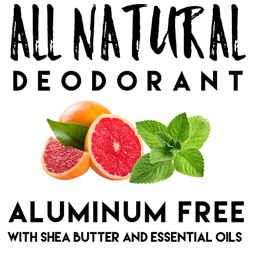 Natural Deodorant with Shea Butter & Essential Oils 50g