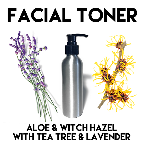 Witch Hazel & Aloe Face Toner with Lavender 170ml