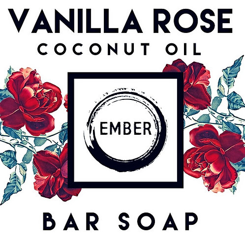 Vanilla Rose Bar Soap