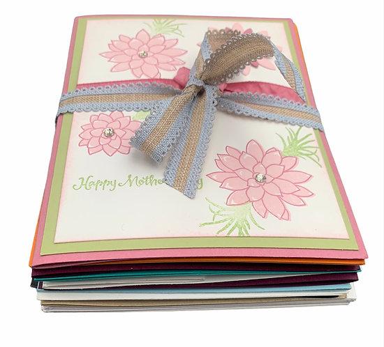 Handmade Cards - 10 pack