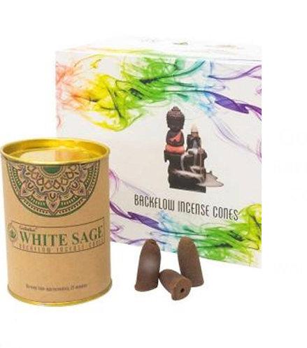 Goloka Backflow Incense Cones - 24 pack