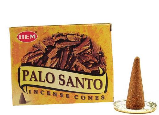 Palo Santo Incense Cones - 10 pack