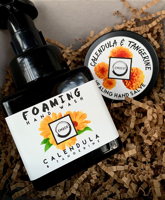 Calendula Hand Wash & Salve Set