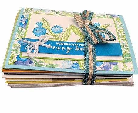 Handmade Cards -10 pack