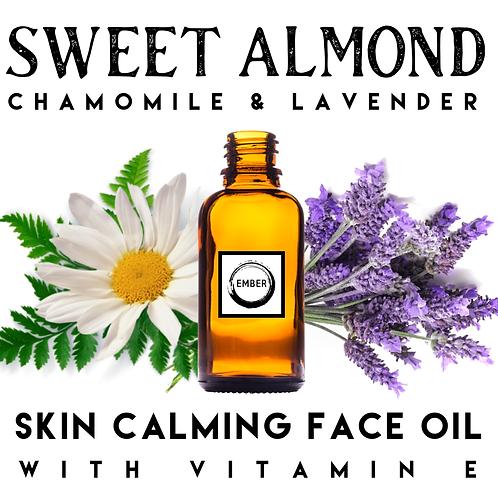 Sweet Almond Skin Calming  Face Oil 30ml