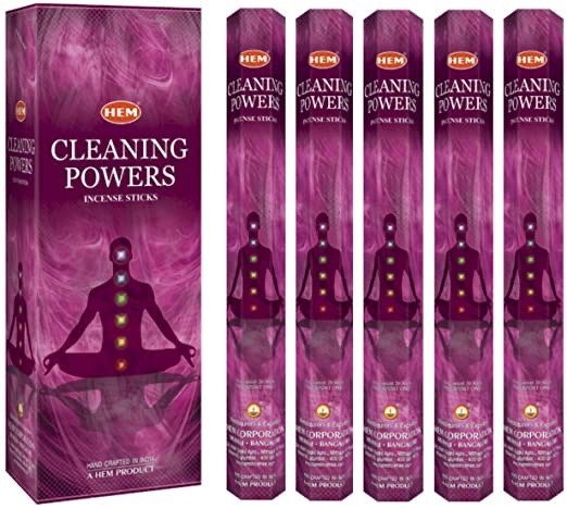 Cleansing Powers Incense - Hex 20 pack