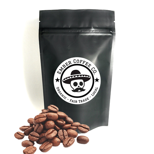 Organic Decafe, Whole bean 1lb (454g)
