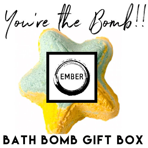 You're the Bomb - Custom Bath Bomb Gift Box