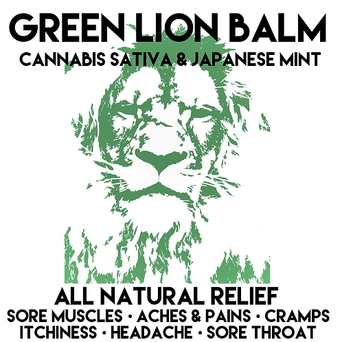 Extra Strength Green Lion Balm 50g