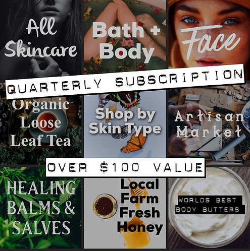 Quarterly Subscription Box