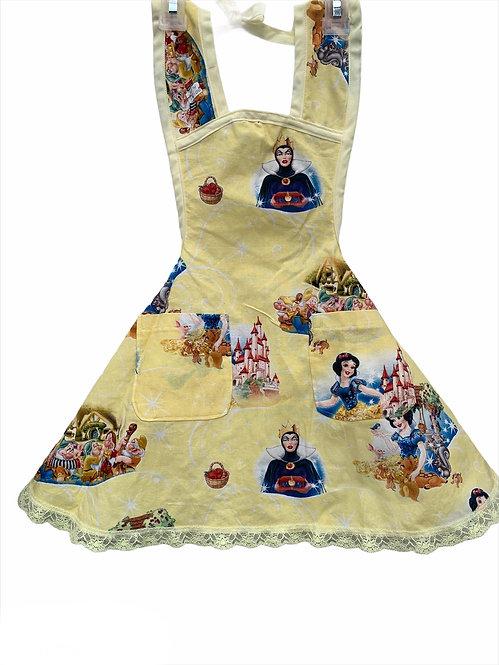 Yellow Snow White Apron - Child sz 3/4