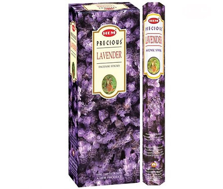 Lavender Incense Sticks - Hex 20 pack
