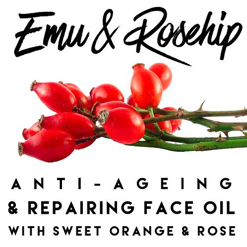 Emu & Rosehip Repairing Face Oil 10 or 30ml