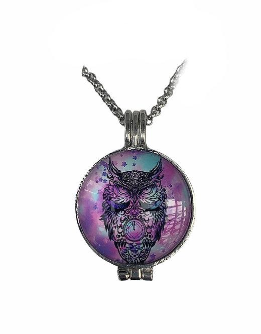 Aromatherapy Necklace - Owl