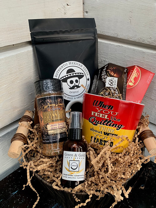 Mexican Cocoa Gift Basket