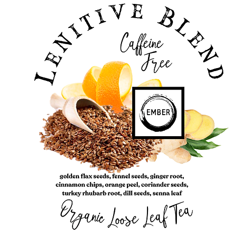 Organic Lenitive Blend (Laxitive Tea)