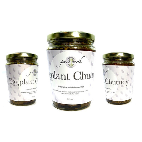 Eggplant Chutney by Grace Earth 500ml