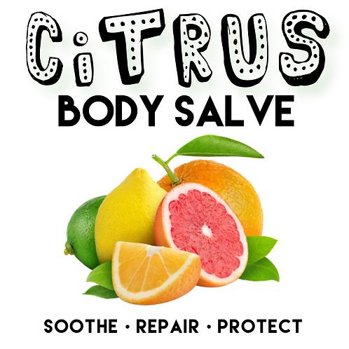 Citrus Hemp Body Salve 100g