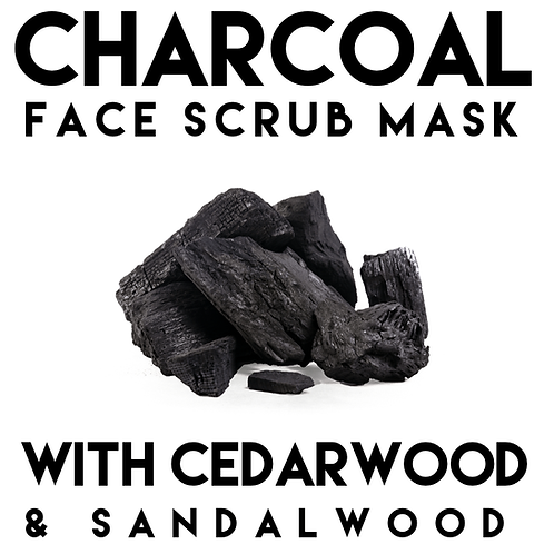 Charcoal Face Scrub Mask