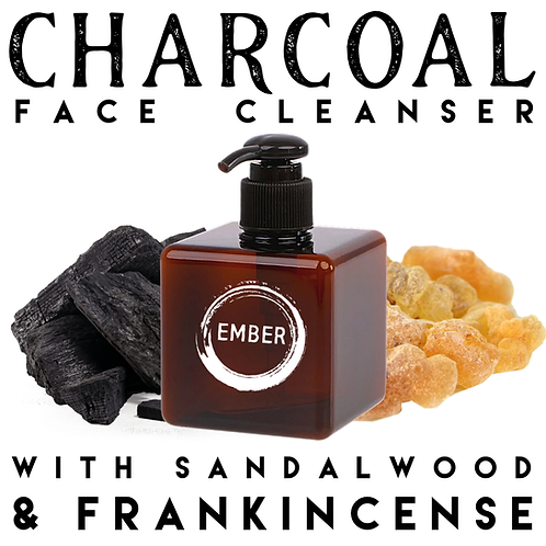 Charcoal Face Wash with Sandalwood