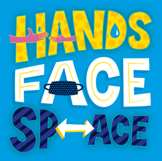 hands-face-space