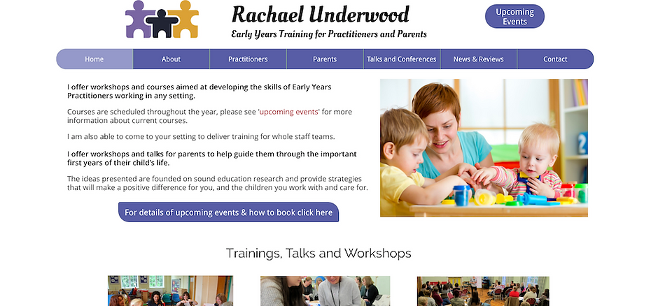 Rachael Underwood Early Years Training