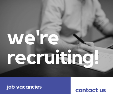 We're recruiting - please get in touch