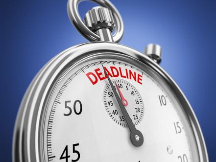 Oct 15 US Tax Filing Deadline - for citizens living outside of US