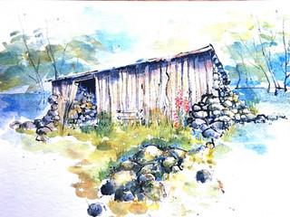Sheep shed sketch