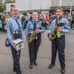 Marching Band Surbiton Station
