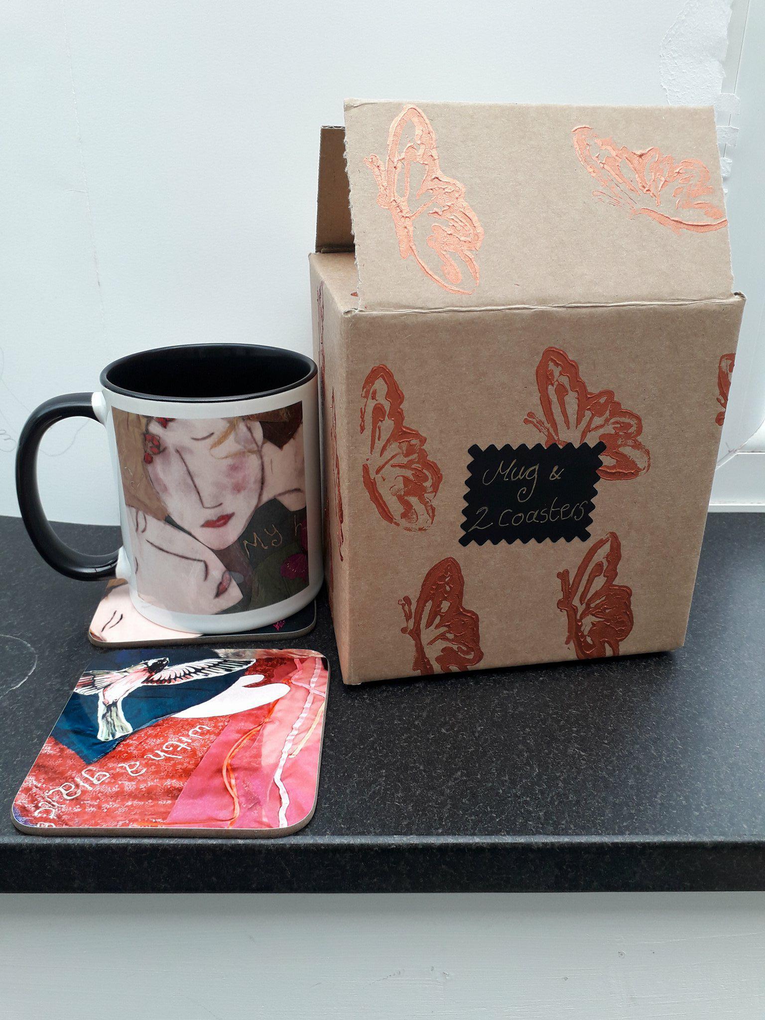 Captivated - Mug & 2 coasters