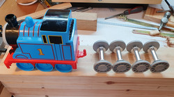 thomas train plus wheel rollers for carr
