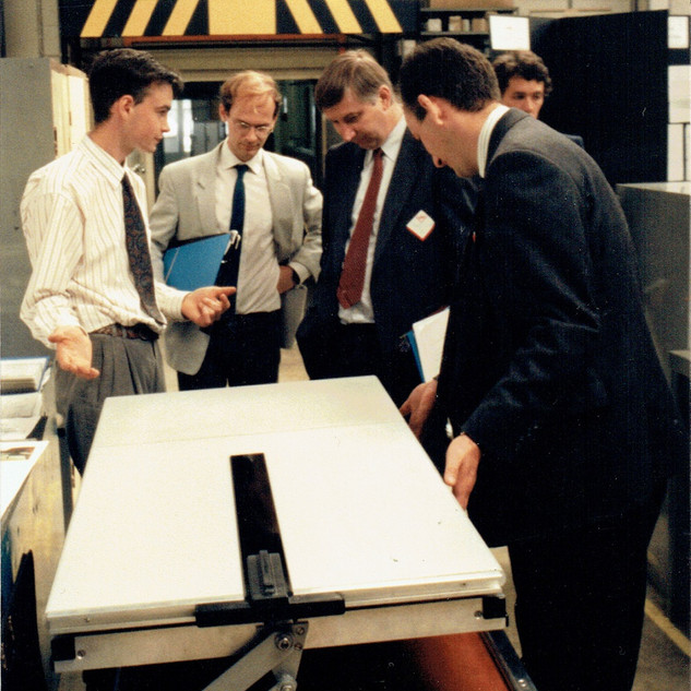 1991 A-level pneumatic table - awarded Young Engineer for Britain southern region winner and national finalist held in the NatWest Tower, London