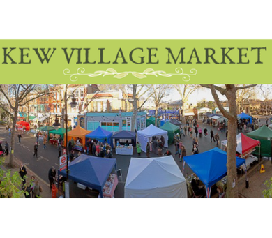 Visit us at Kew Village Market
