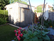 Recycled materials - Shed