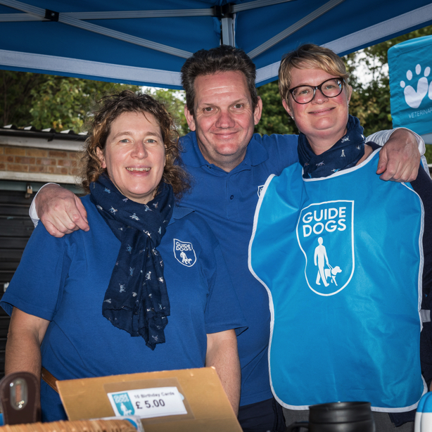 Market Stalls Guide Dogs