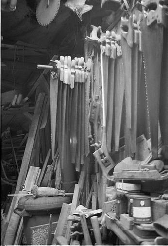 Carpentry workshop tools
