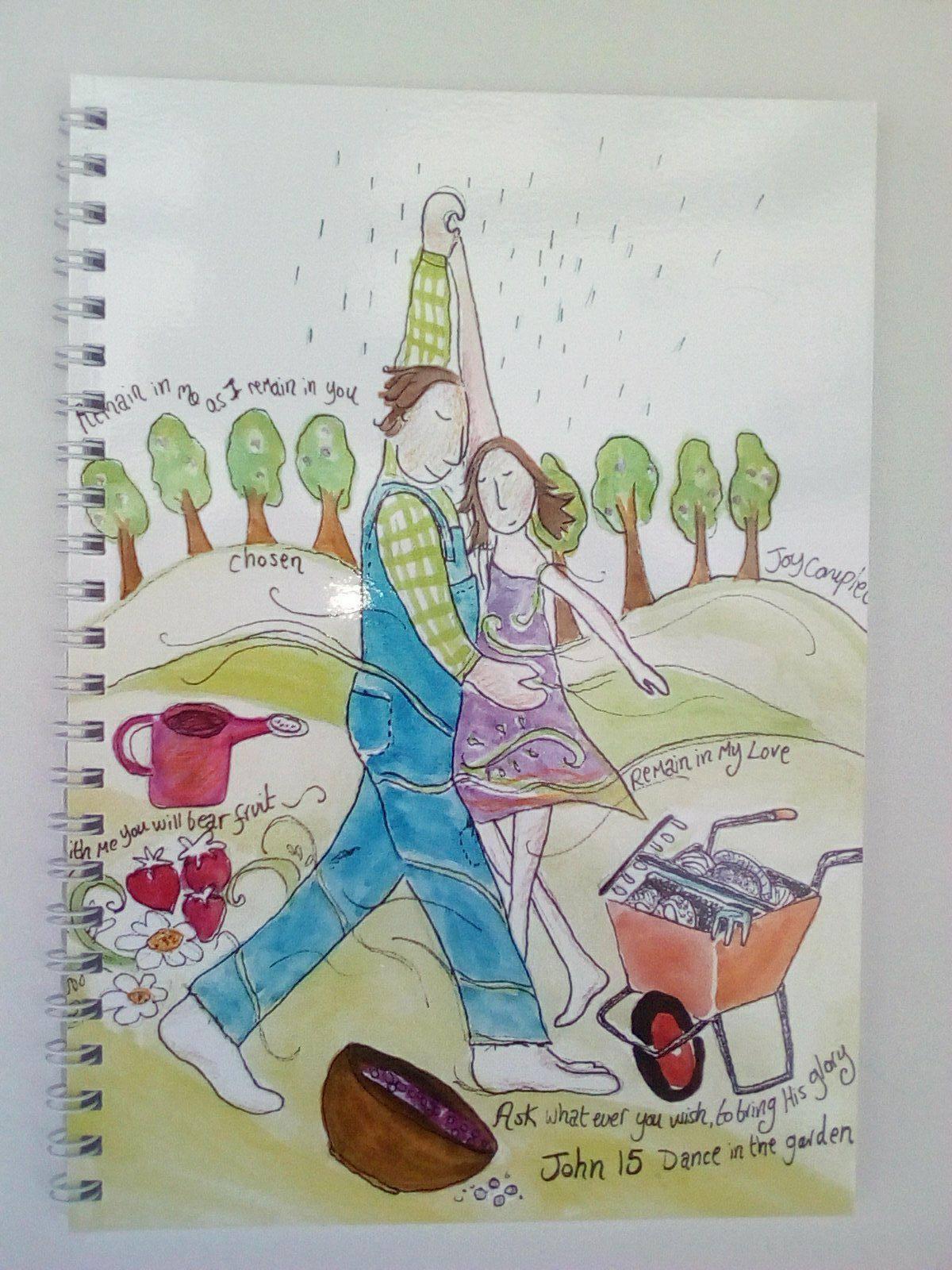'Dance' notebook