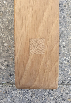 2018 Dining Table - putting wood, metal and glass together