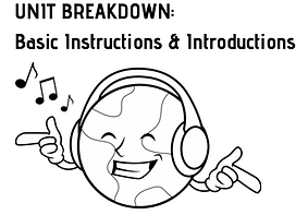 DJ Musica logo Unit Breakdown Basic Instructions and Introductions