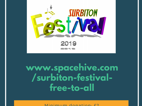 DONATE NOW TO KEEP SURBITON FESTIVAL FREE TO ALL