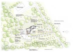 Hampshire Eco House Site Plan | Design around Nature