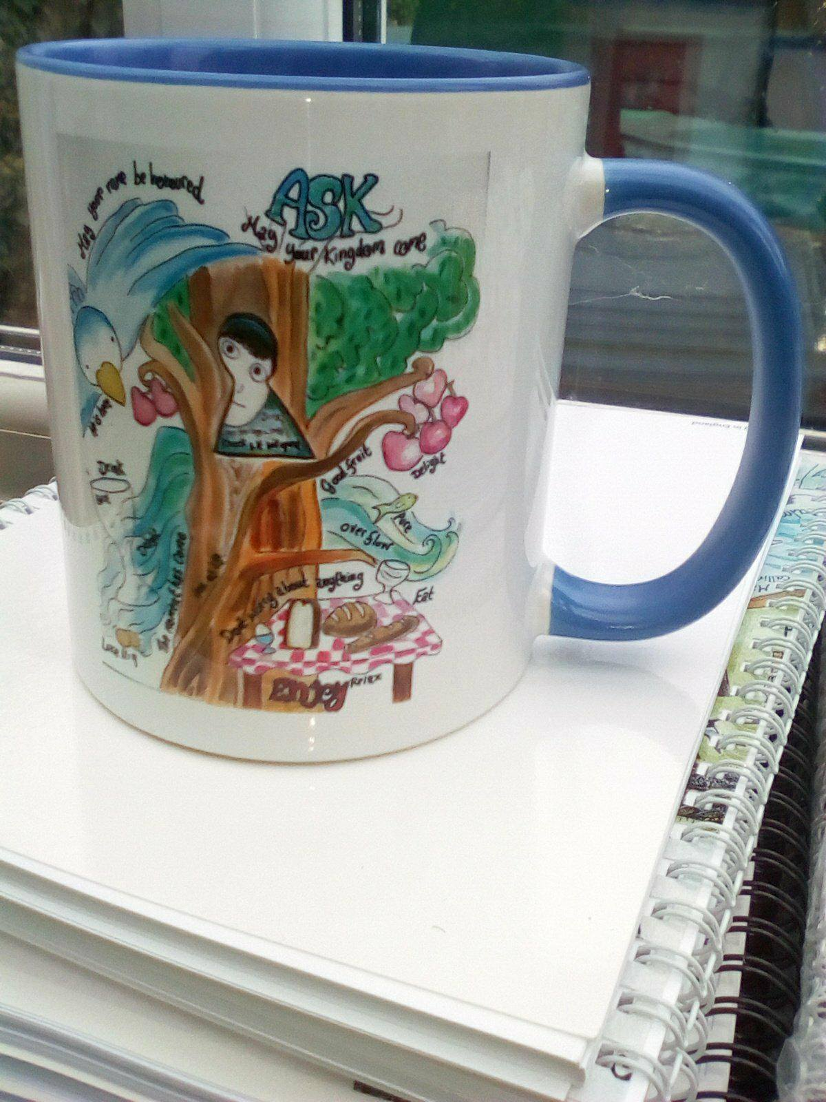 'Ask' mug