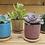 Thumbnail: Ceramic ice cracked Succulent Pot