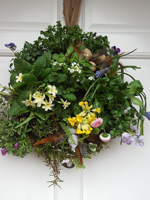 Living Wreath Easter
