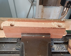 wooden piece in machinery
