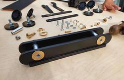 Component parts for train carriages