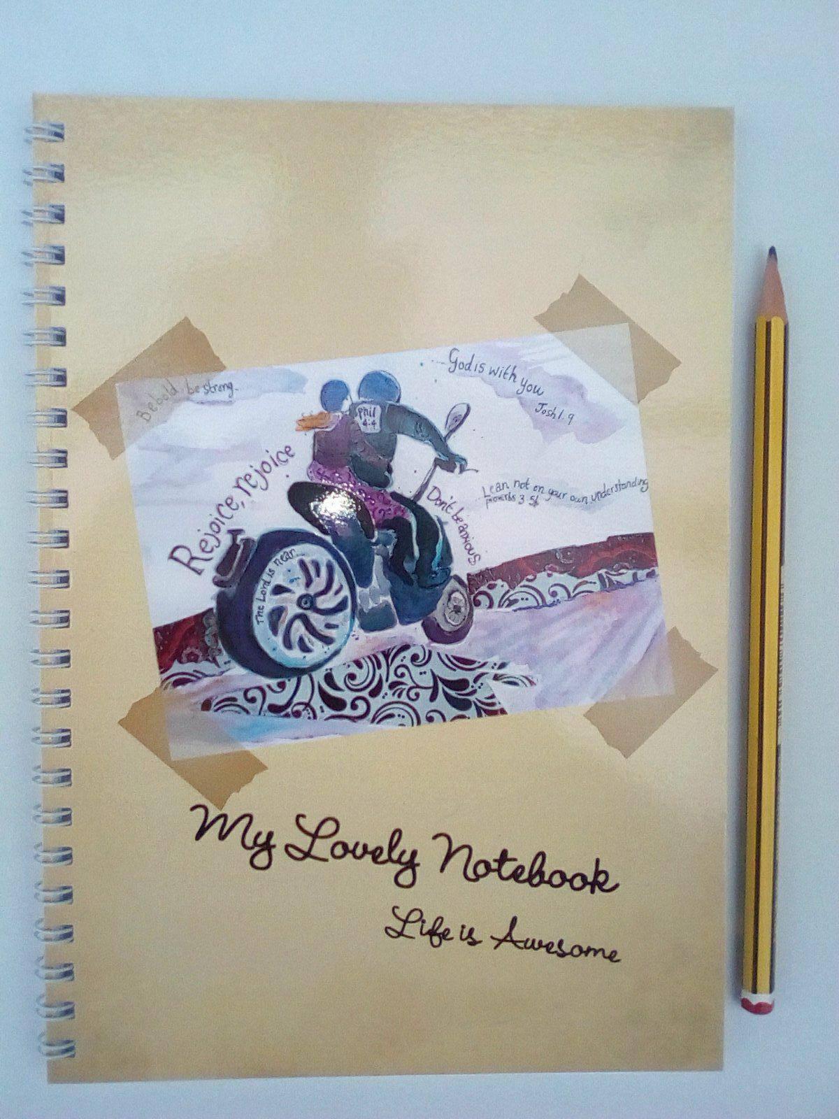 'Rejoice' notebook