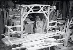 Carpentry workshop truss construction | Designer Inventor Architect