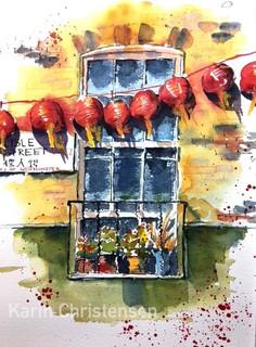Listle street, China Town, London